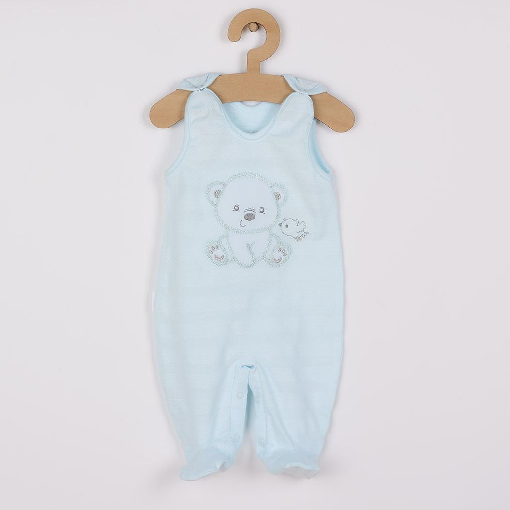 Dojčenská súprava do pôrodnice New Baby For Sweet Bear modrá 50