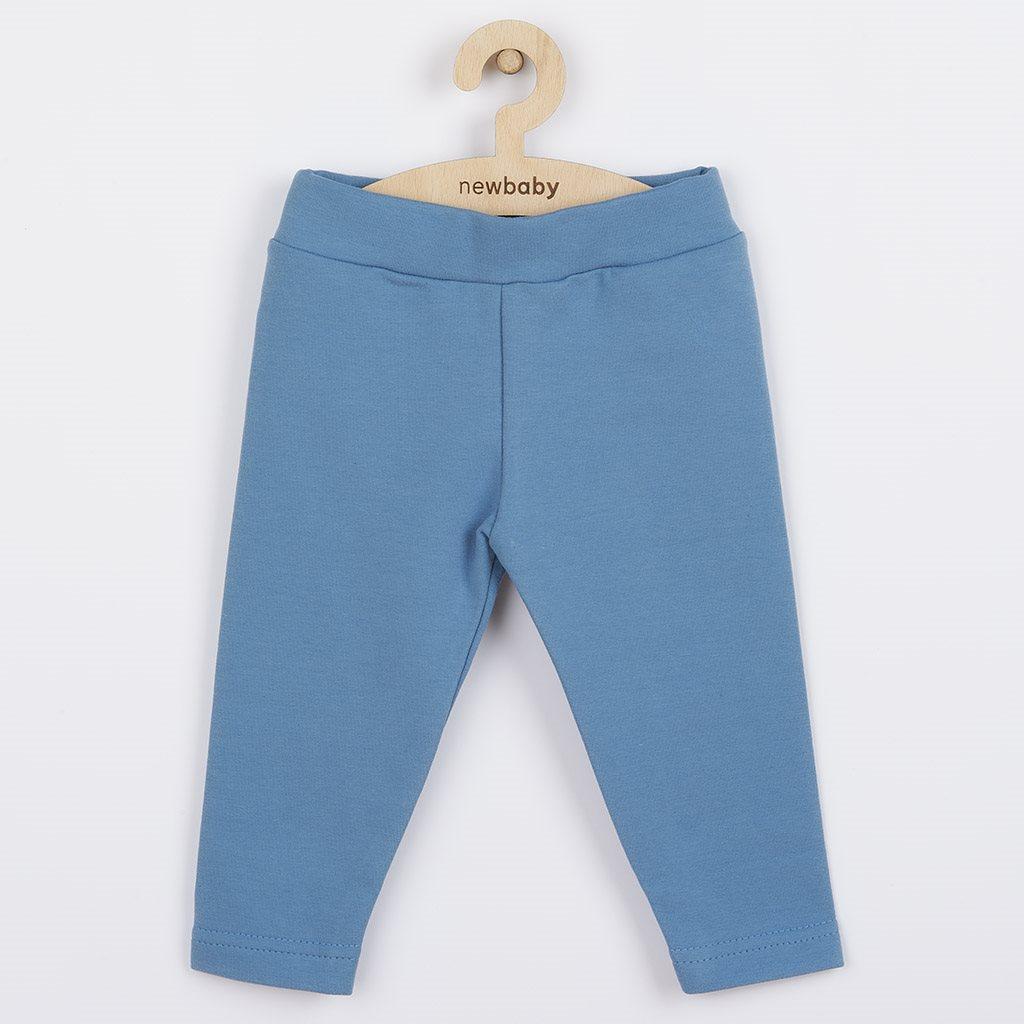 Dojčenské bavlnené legíny New Baby Leggings modré