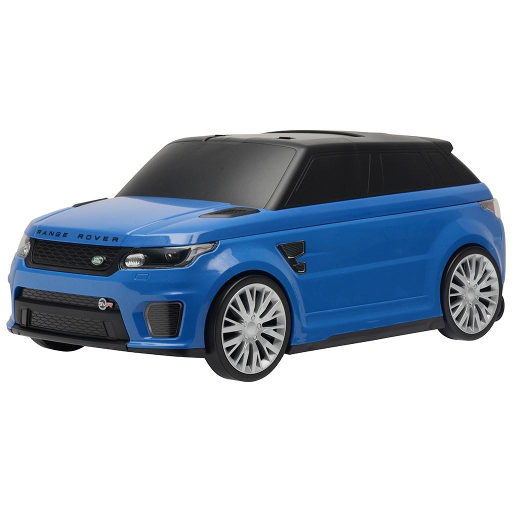 Detské jazdítko a kufrík 2v1 BAYO Range Rover SVR blue