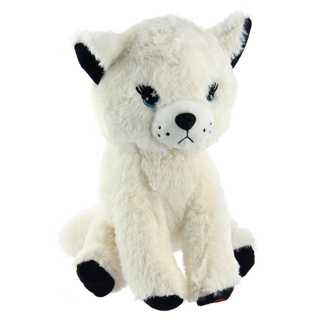 Plyšová hračka Baby Mix mňaukajúca mačička