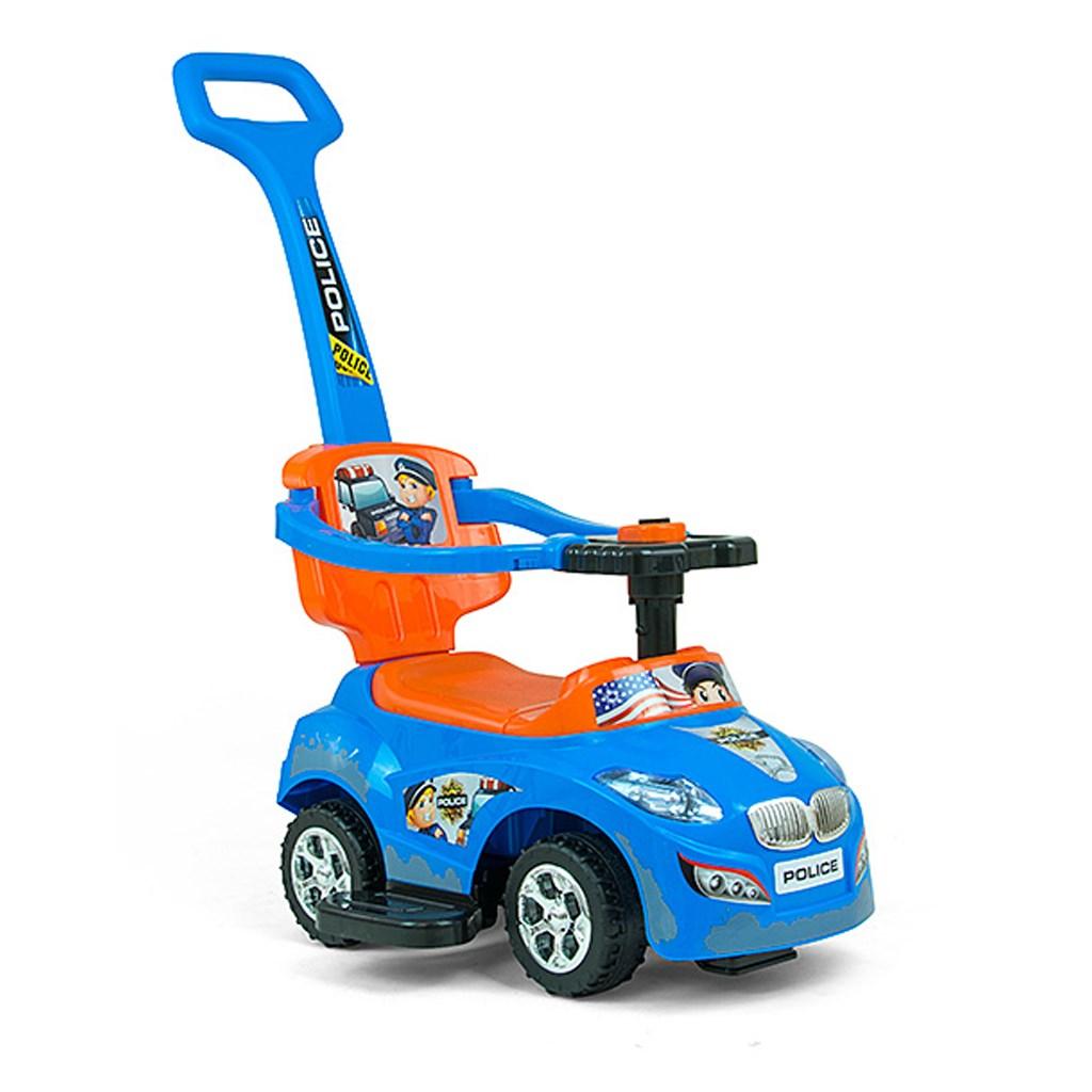 Detské vozítko 2v1 Milly Mally Happy blue-orange