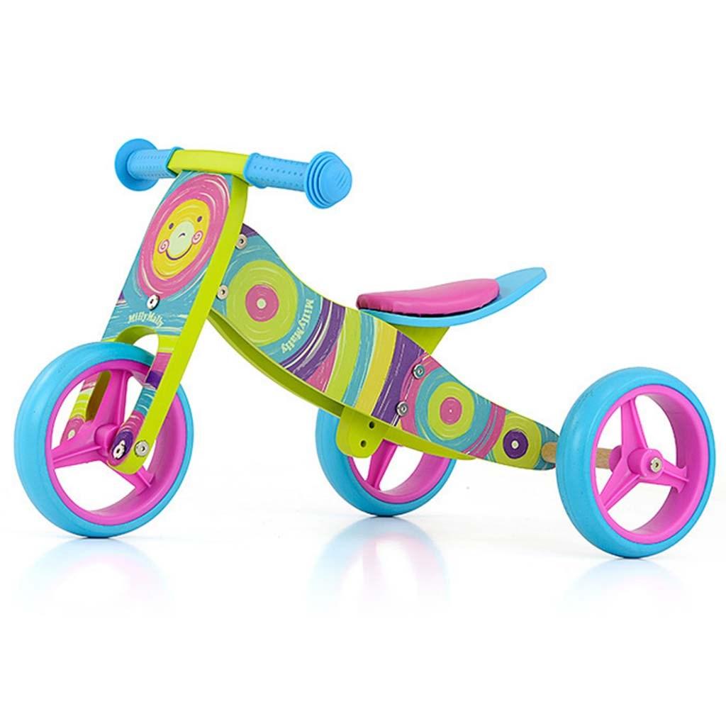 Detské multifunkčné odrážadlo bicykel 2v1 Milly Mally JAKE Rainbow