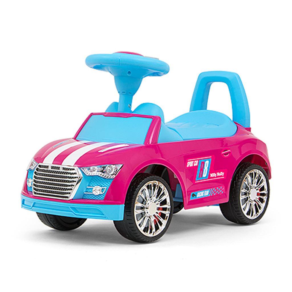 Detské odrážadlo Milly Mally Racer pink-blue