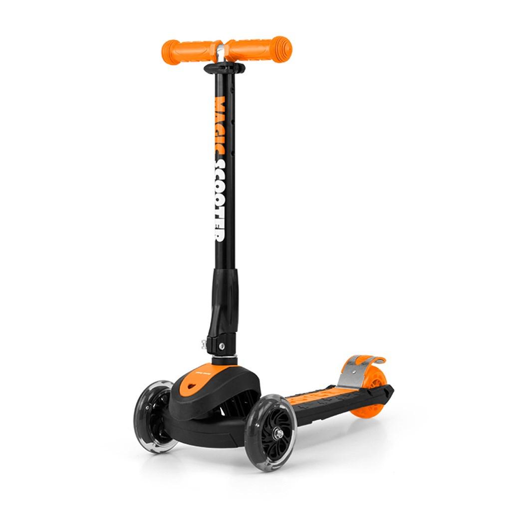 Detská kolobežka Milly Mally Magic Scooter orange