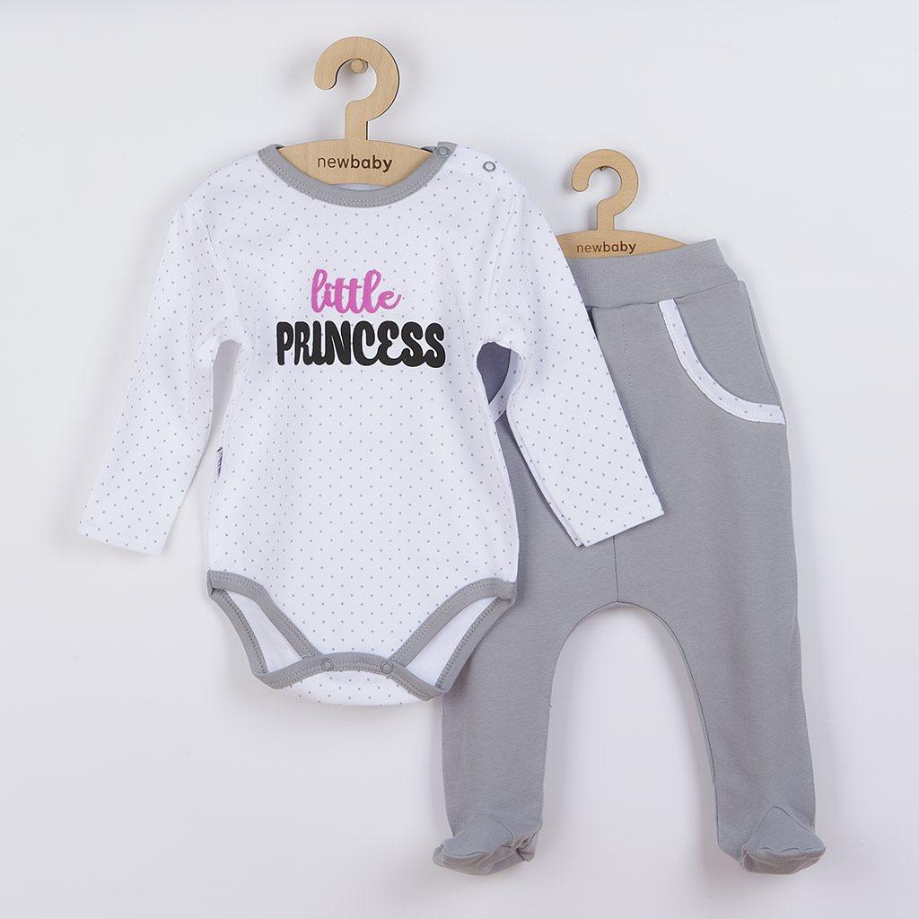 2-dielna bavlnená súprava New Baby Little Princess-86 (12-18m)