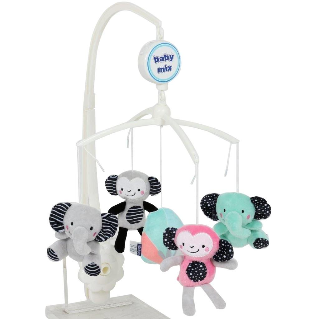 Kolotoč nad postieľku Baby Mix Zoo