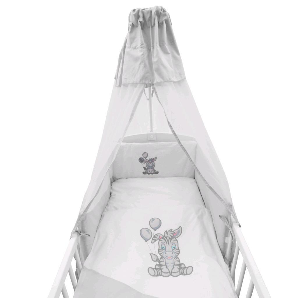Zavinovačka New Baby Zebra exclusive bielo-sivá