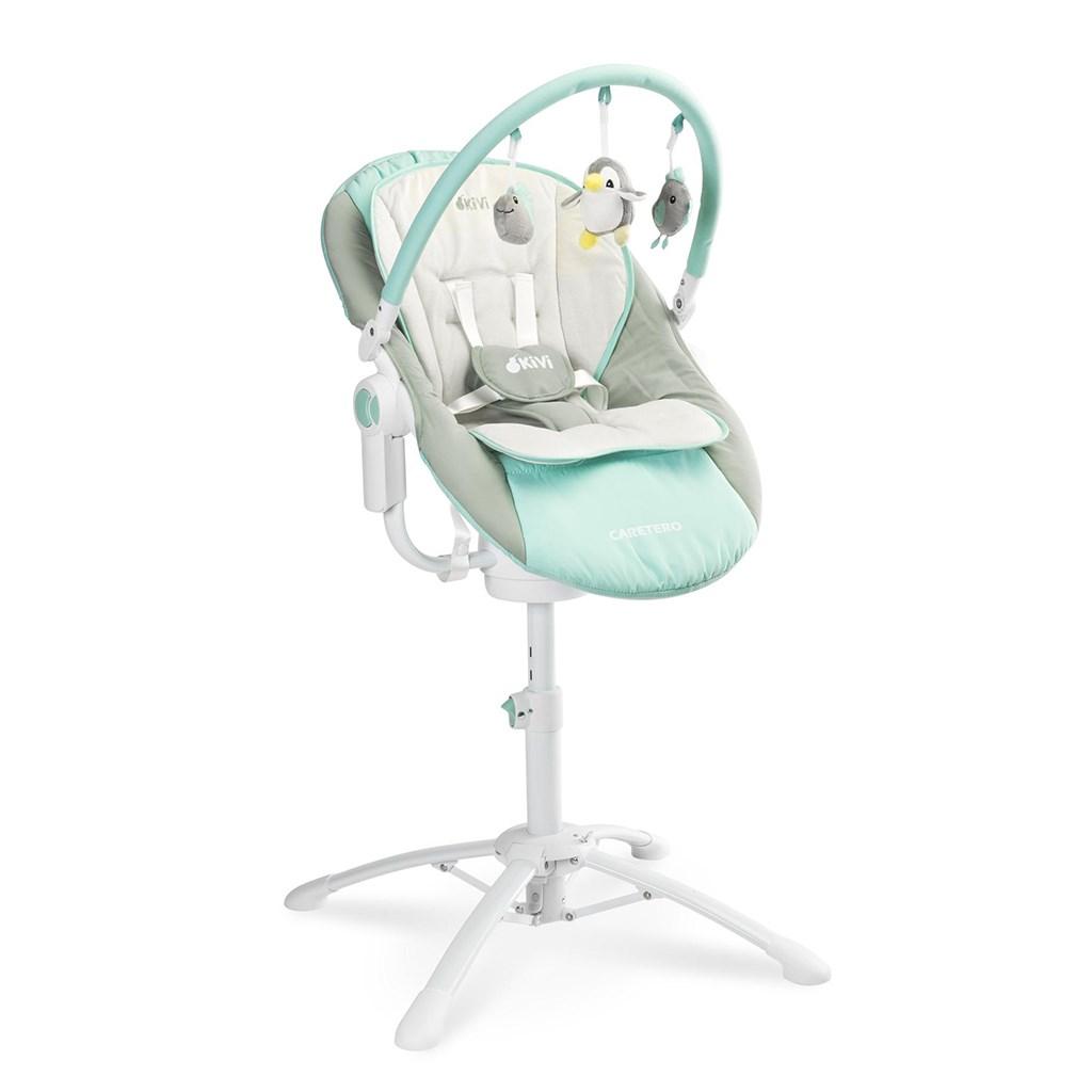 Detská jedálenská stolička 3v1 Caretero Kivi blue