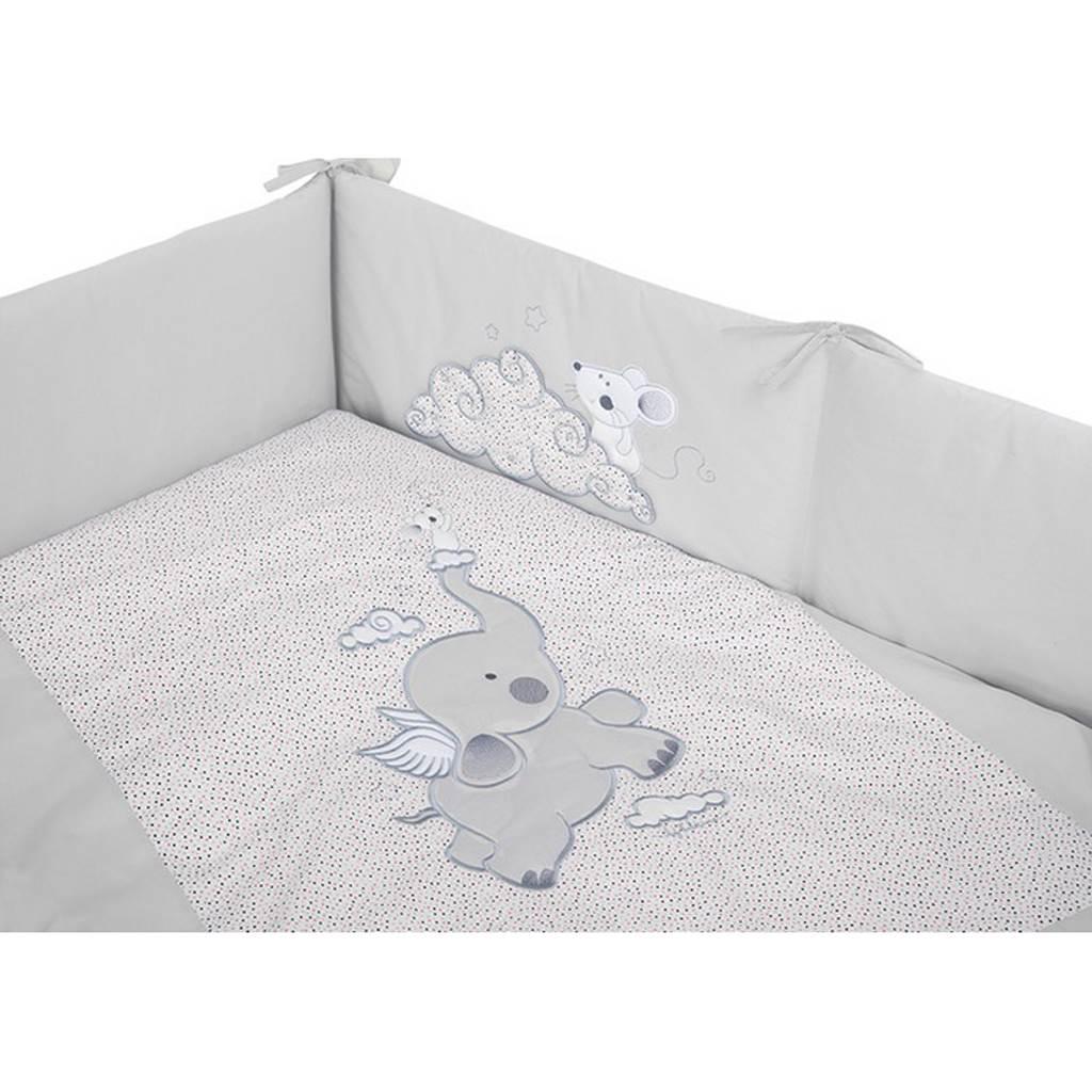 3-dielne posteľné obliečky Belisima Friends 90/120 ružové