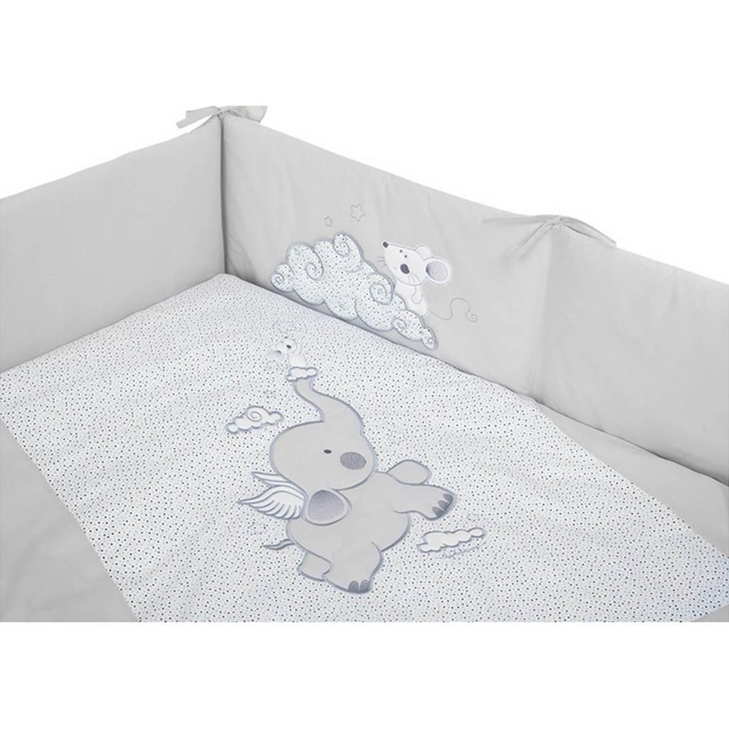 6-dielne posteľné obliečky Belisima Friends 100/135 tyrkysové