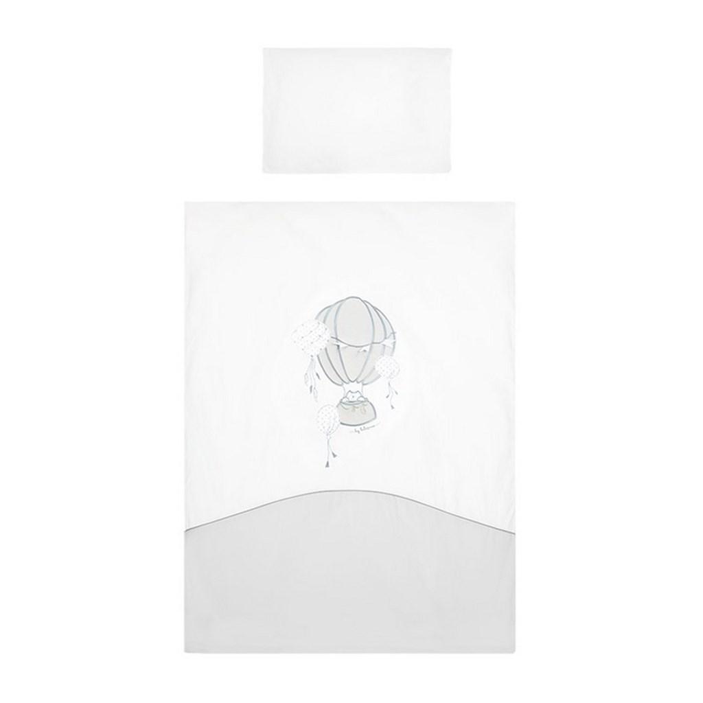 2-dielne posteľné obliečky Belisima Ballons 90/120 sivé, Sivá
