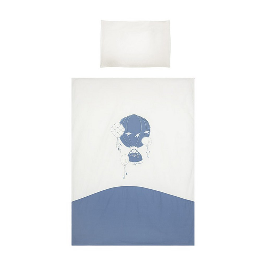 5-dielne posteľné obliečky Belisima Ballons 100/135 modré