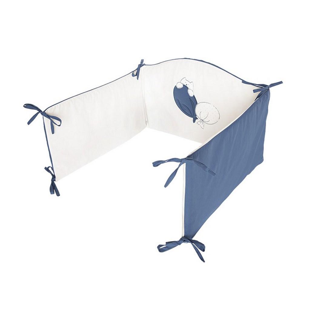 5-dielne posteľné obliečky Belisima Ballons 90/120 modré