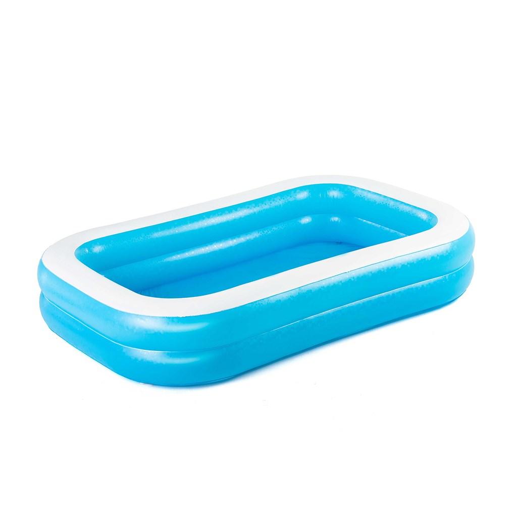 Detský nafukovací bazén Bestway rodinný 262x175x51 cm modrý