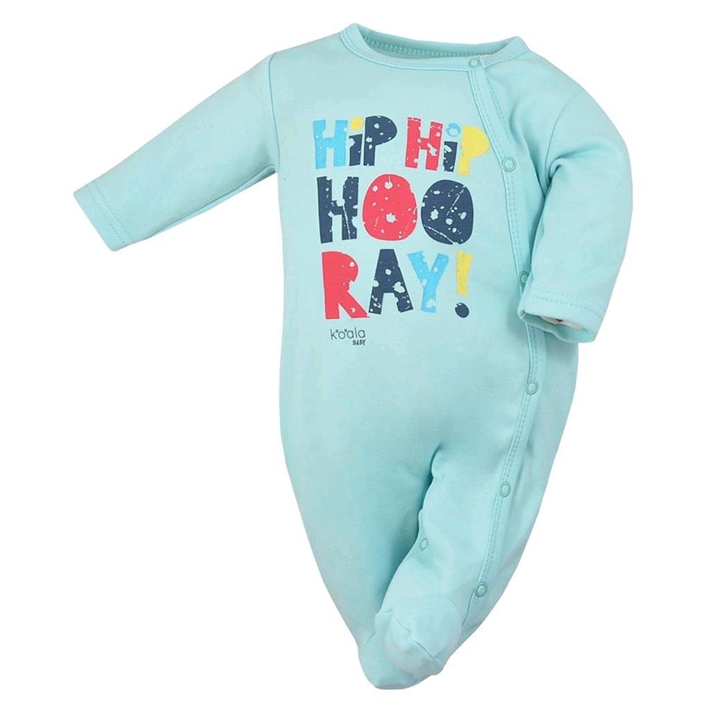 Dojčenský overal Koala Hip-Hip modrý
