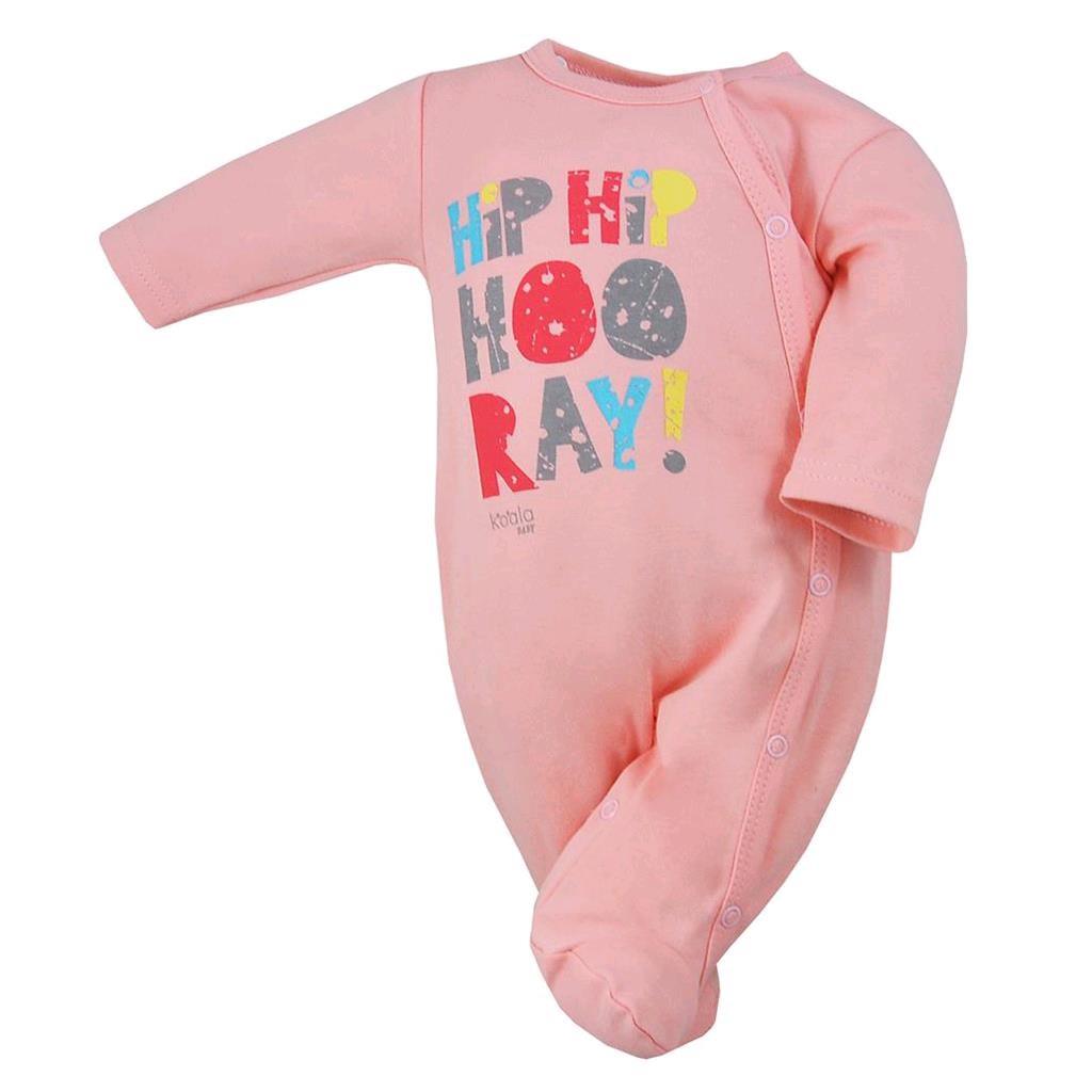 Dojčenský overal Koala Hip-Hip ružový