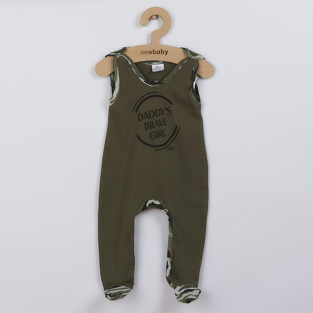 Dojčenské dupačky New Baby Army girl-86 (12-18m)