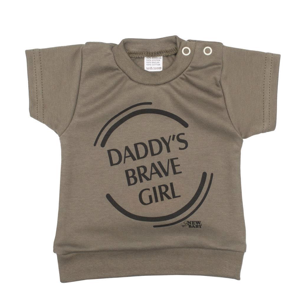 2-dielna dojčenská súprava New Baby Army girl 74 (6-9m)