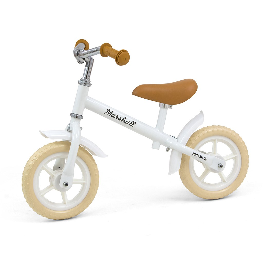 Detské odrážadlo bicykel Milly Mally Marshall White