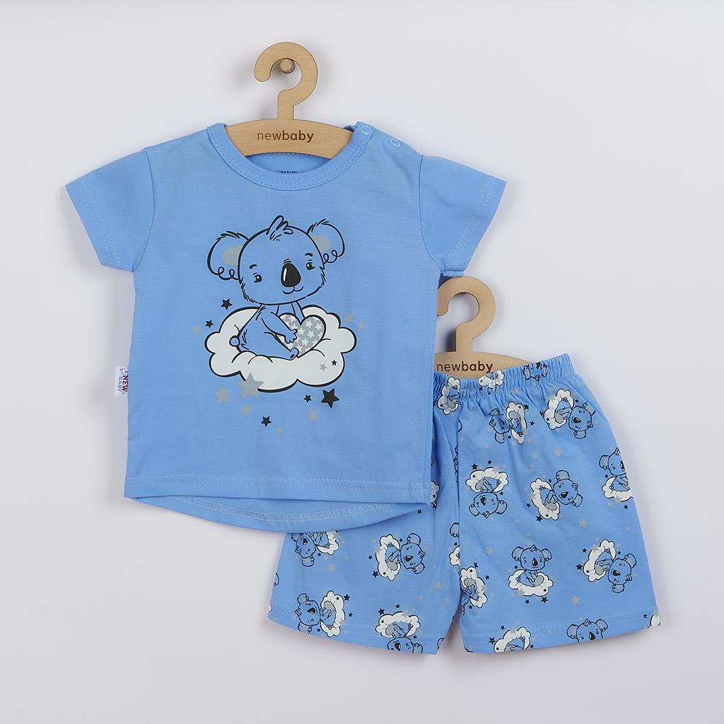 Detské letné pyžamko New Baby Dream modré