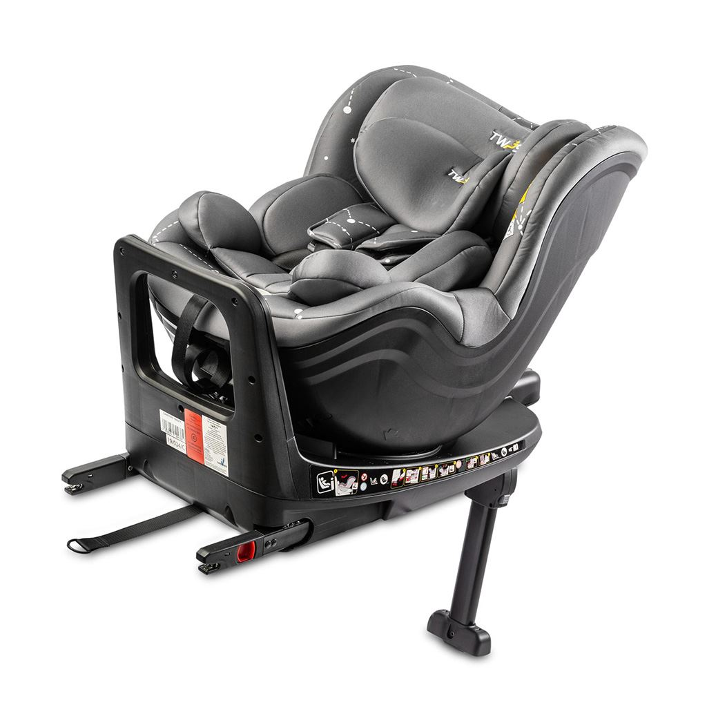 Autosedačka CARETERO Twisty Isofix i-Size grey 2020