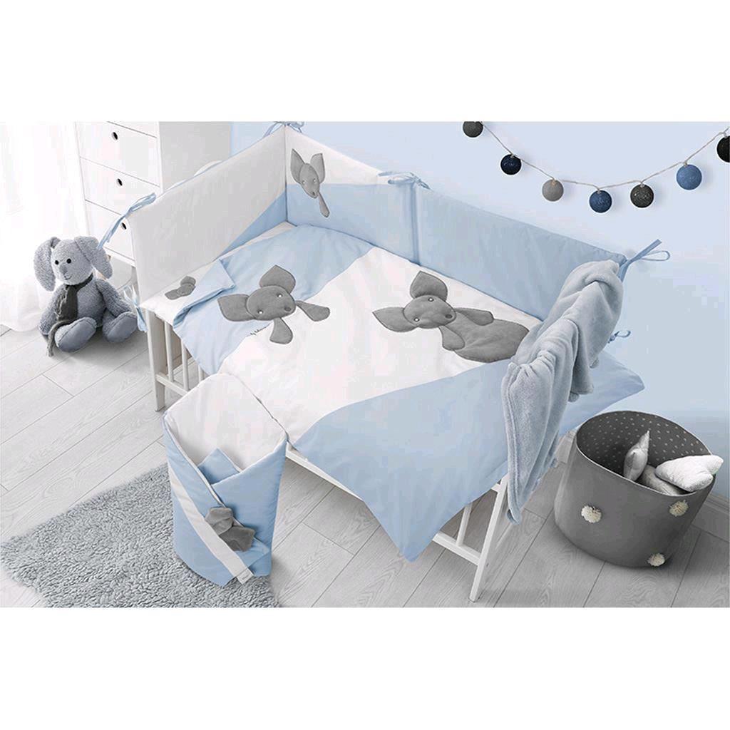 Hniezdočko pre bábätko Minky Belisima Mouse modré