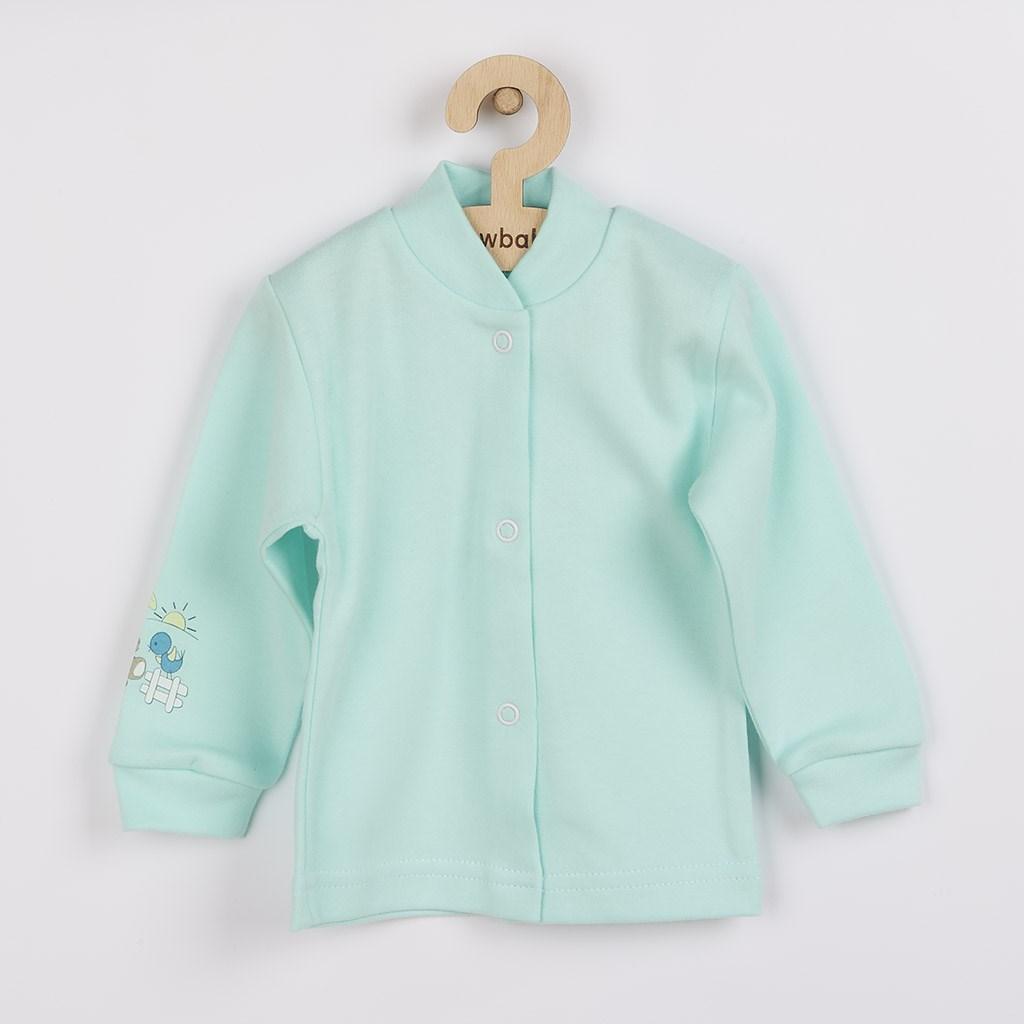 Dojčenský kabátik New Baby Mouse Artist zelený