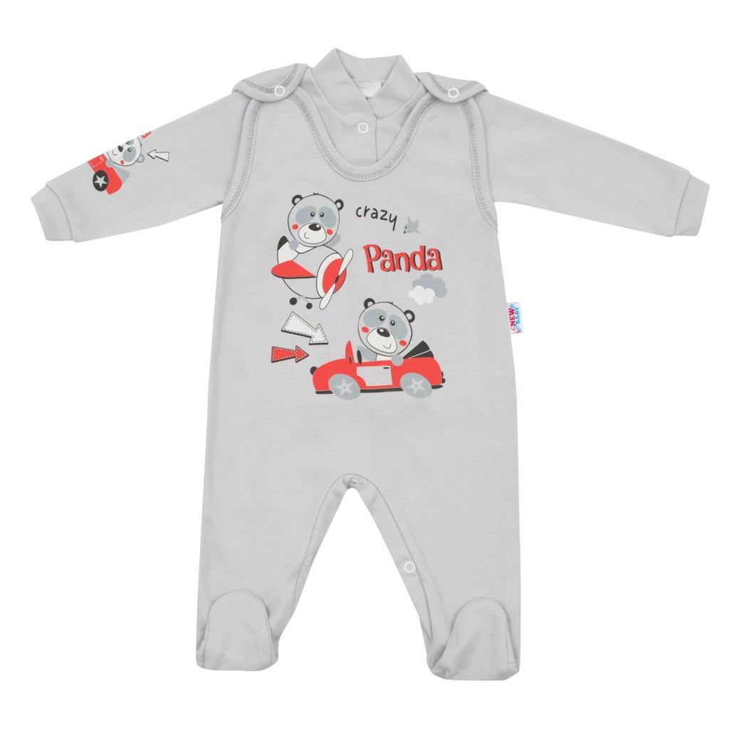 2-dielna súprava New Baby Crazy Panda
