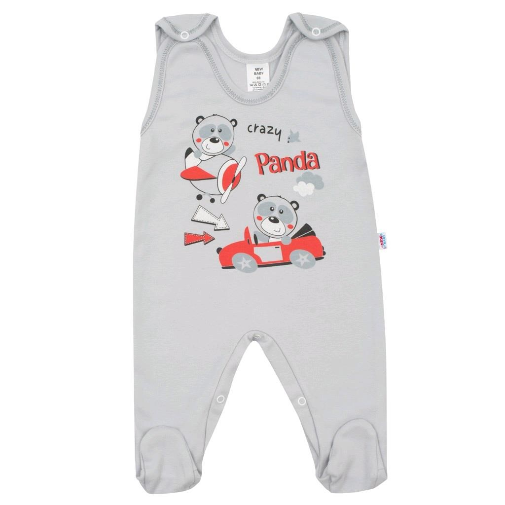 Dojčenské dupačky New Baby Crazy Panda