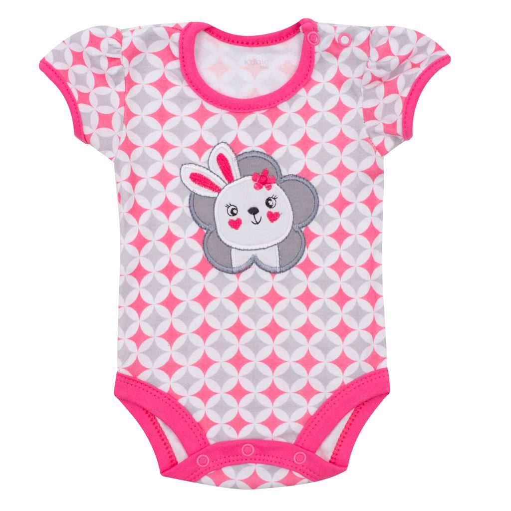 Dojčenské letné body Koala Summertime rabbit-68 (4-6m)