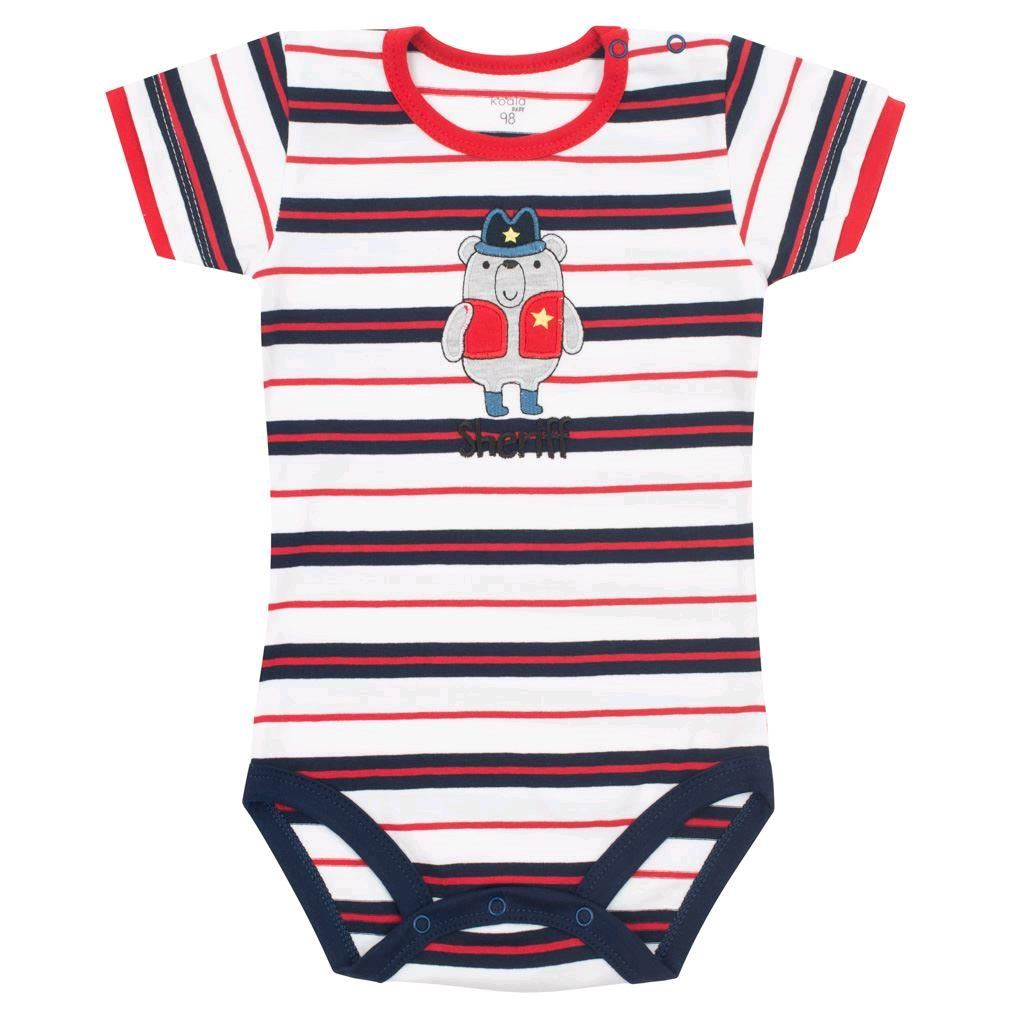 Dojčenské letné body Koala Jumbo Summer sheriff-68 (4-6m)