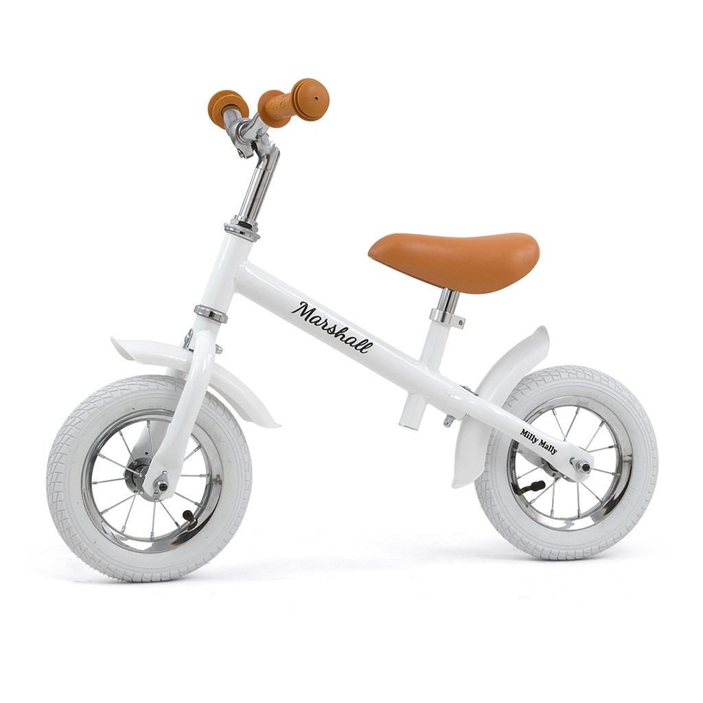 Detské odrážadlo bicykel Milly Mally Marshall Air White