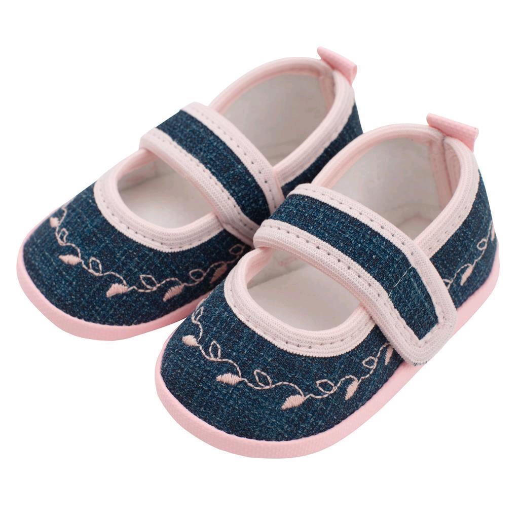 Dojčenské capačky New Baby Jeans ružové 0-3 m 0-3 m