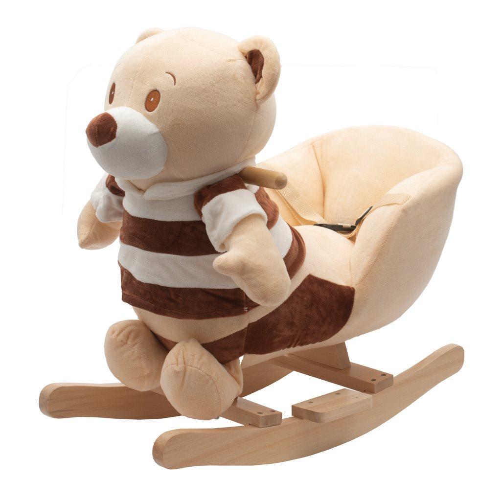 Hojdacia hračka s melódiou PlayTo medvedík pruhovaný