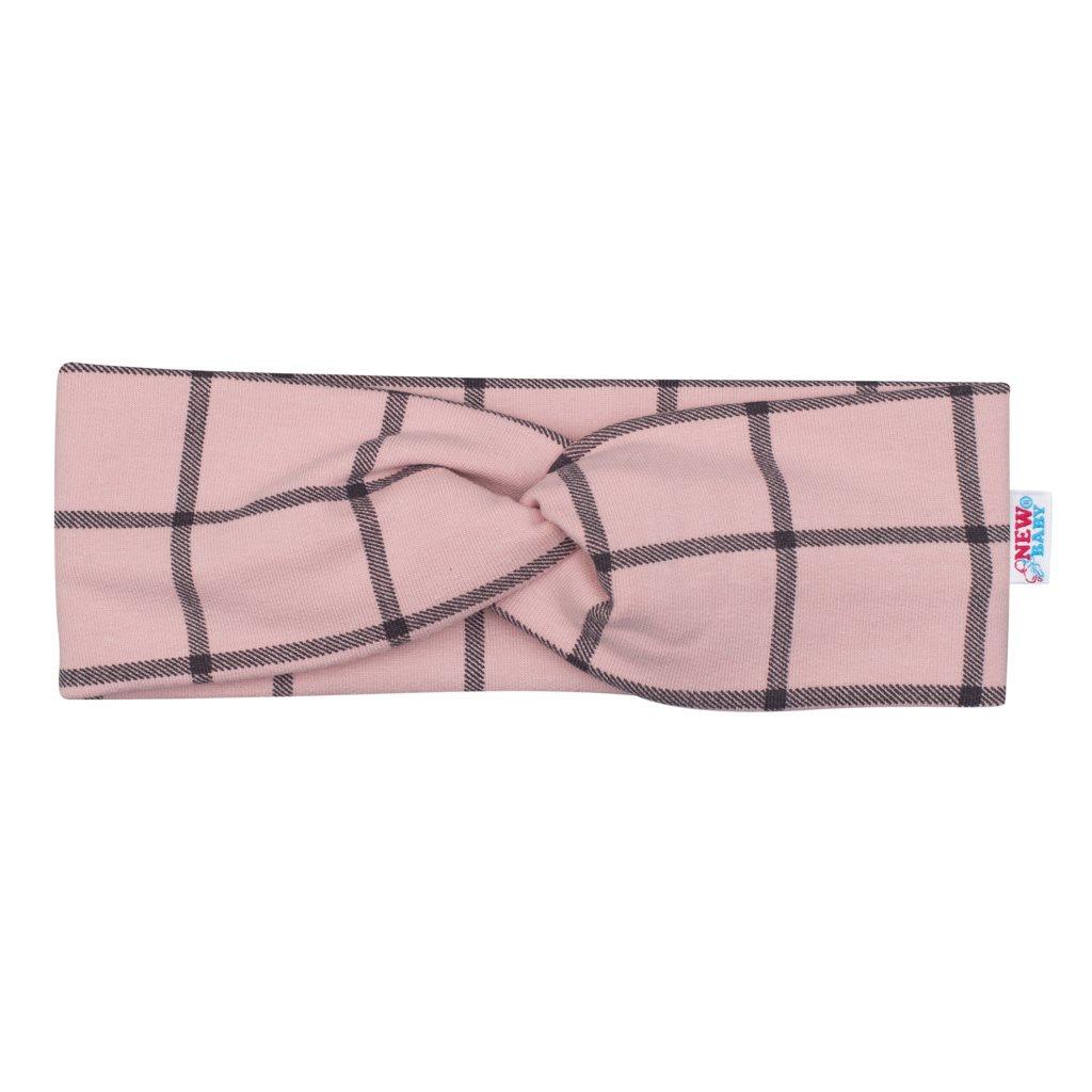 3-dielna dievčeská bavlnená súprava New Baby Cool Girls modro-ružová 80 (9-12m)