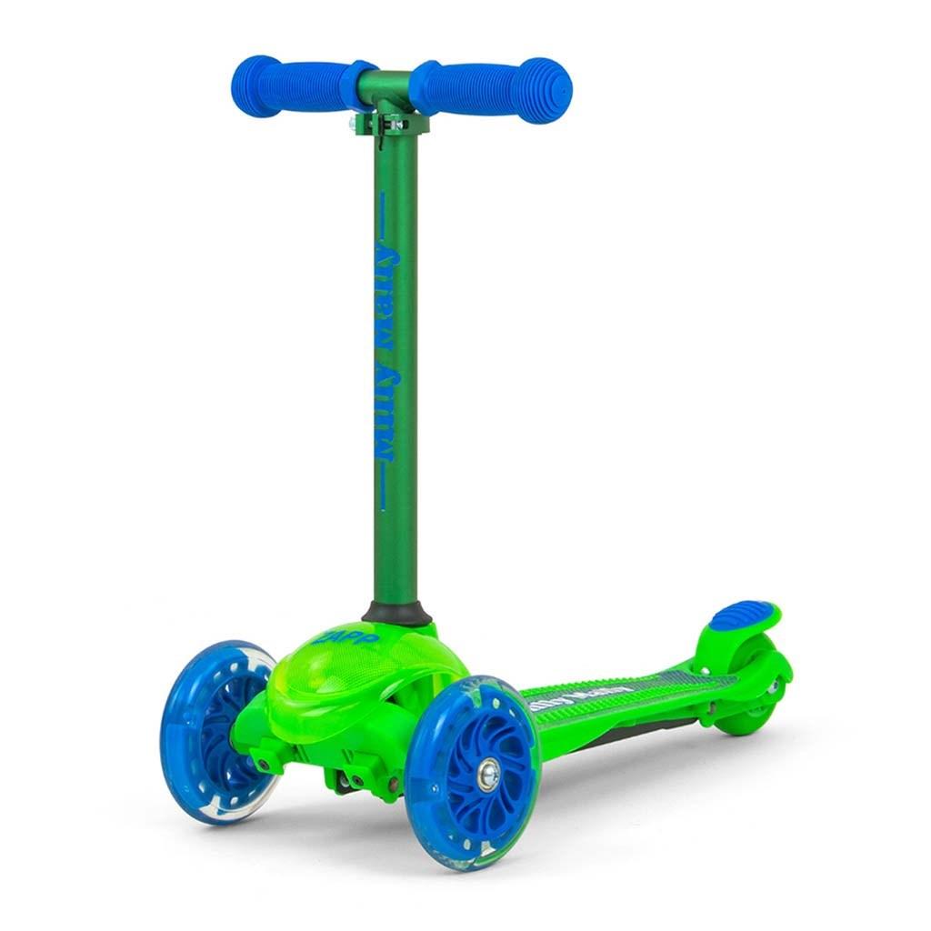 Detská kolobežka Milly Mally Scooter Zapp green