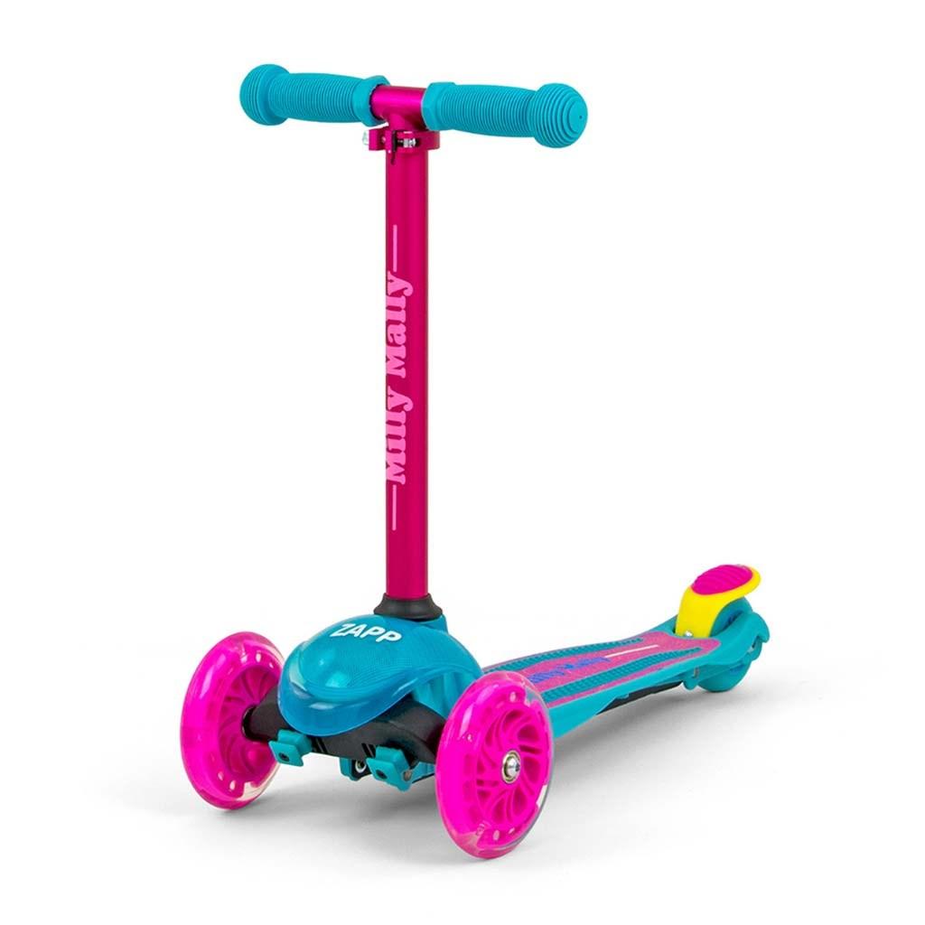 Detská kolobežka Milly Mally Scooter Zapp pink