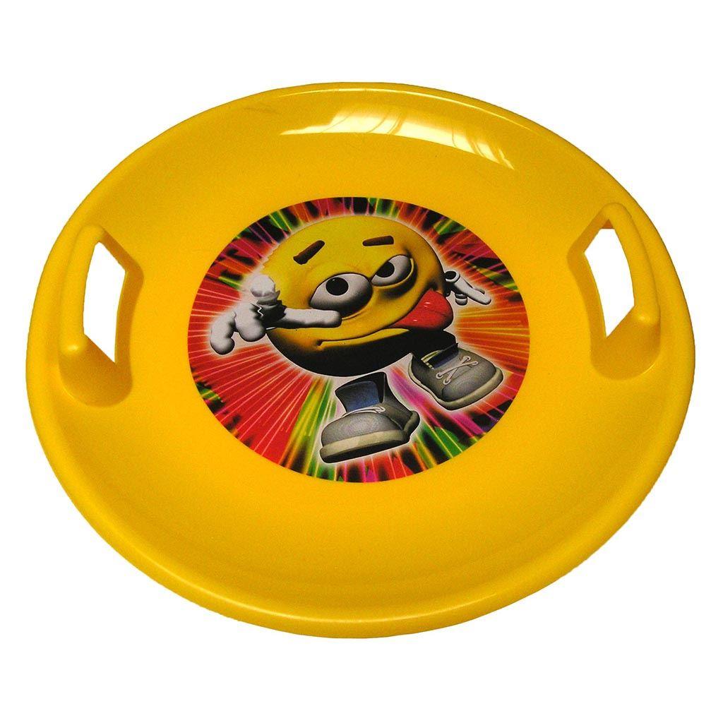 Snežný tanier BAYO 60 cm žltý