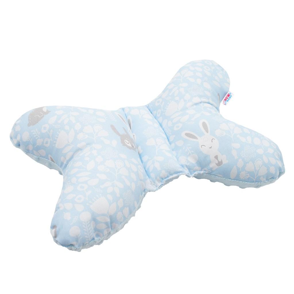 Stabilizačný vankúšik New Baby Králičky modrý