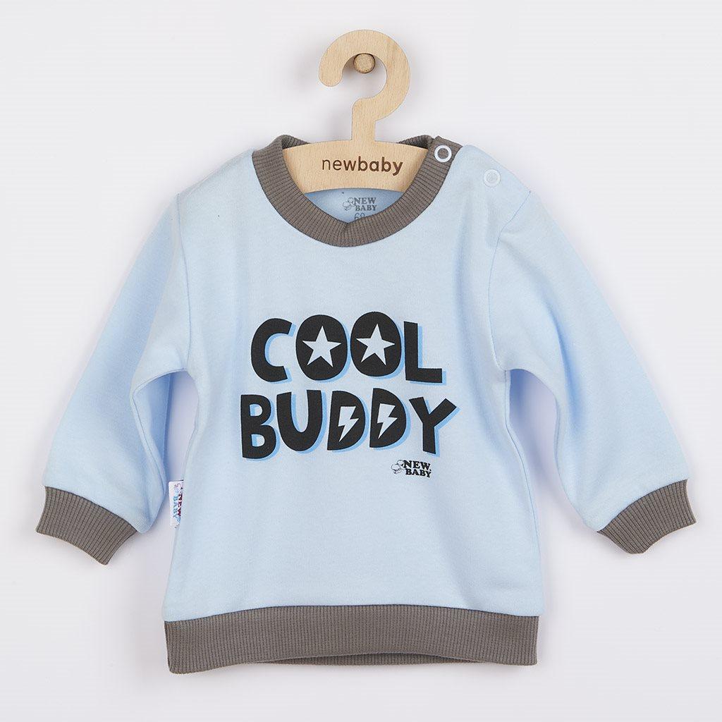 Dojčenské tričko New Baby With Love modré-62 (3-6m)