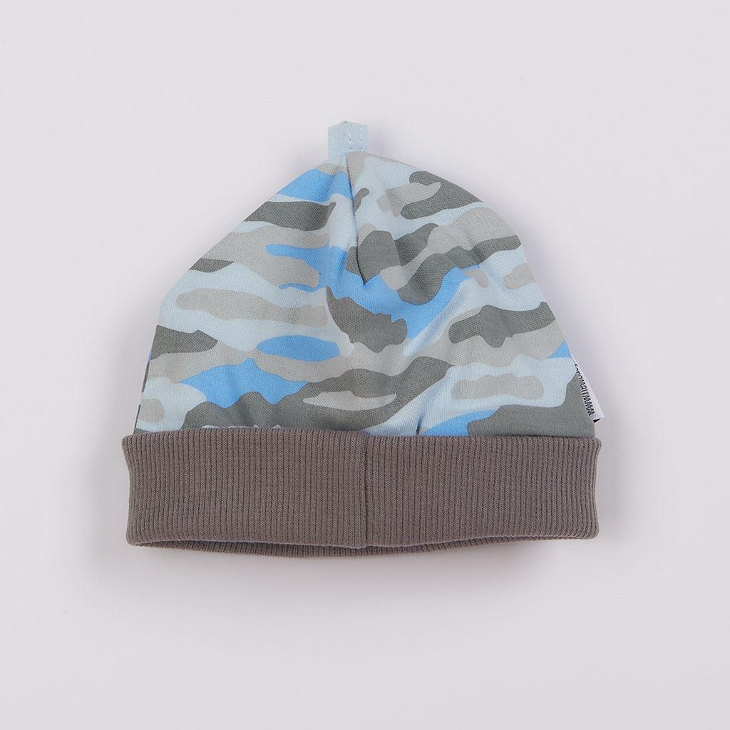 Dojčenská čiapočka New Baby With Love modrá