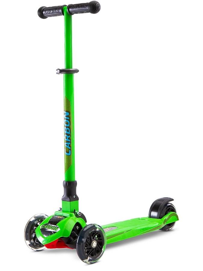 Detská kolobežka Toyz Carbon green (poškodený obal)