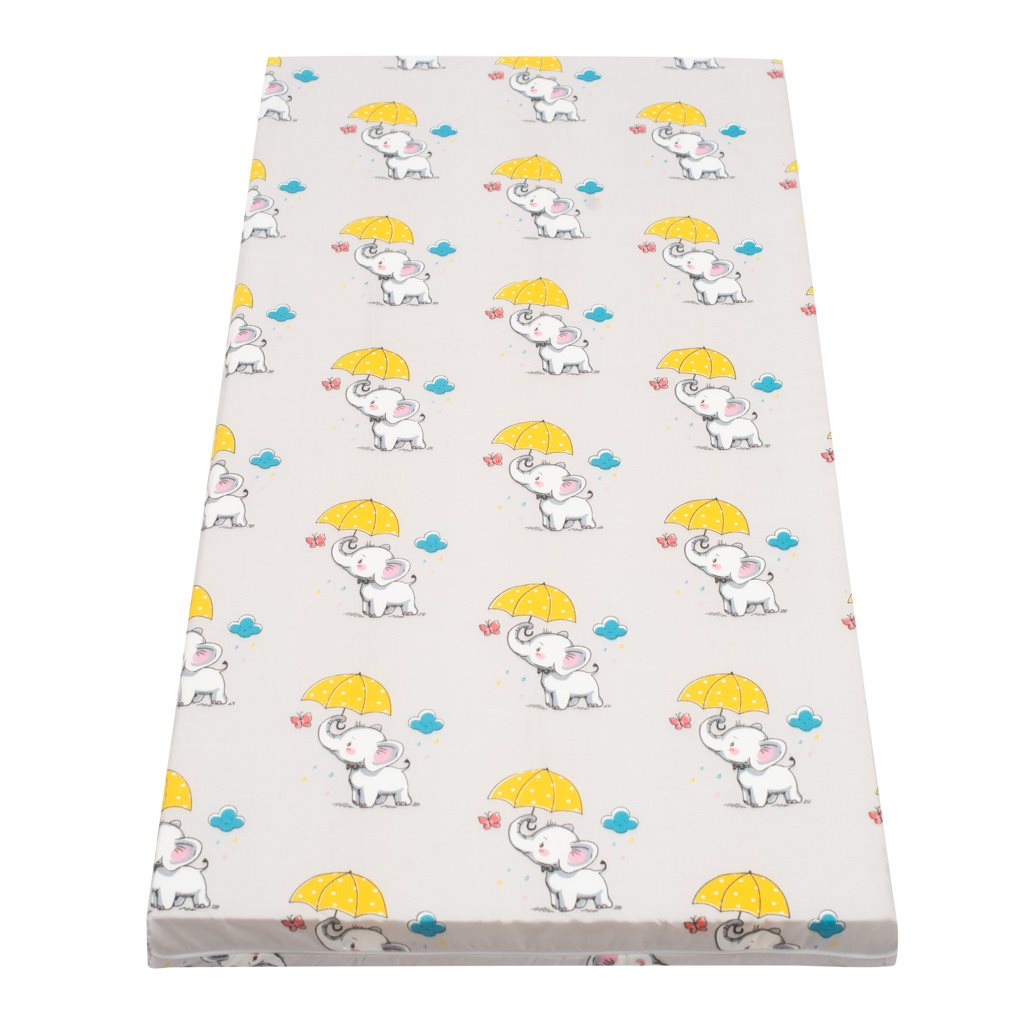 Detský matrac New Baby 120x60 molitan-kokos sivý rôzne obrázky