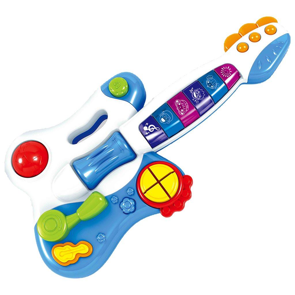 Detská hracia gitara Bayo (poškodený obal)