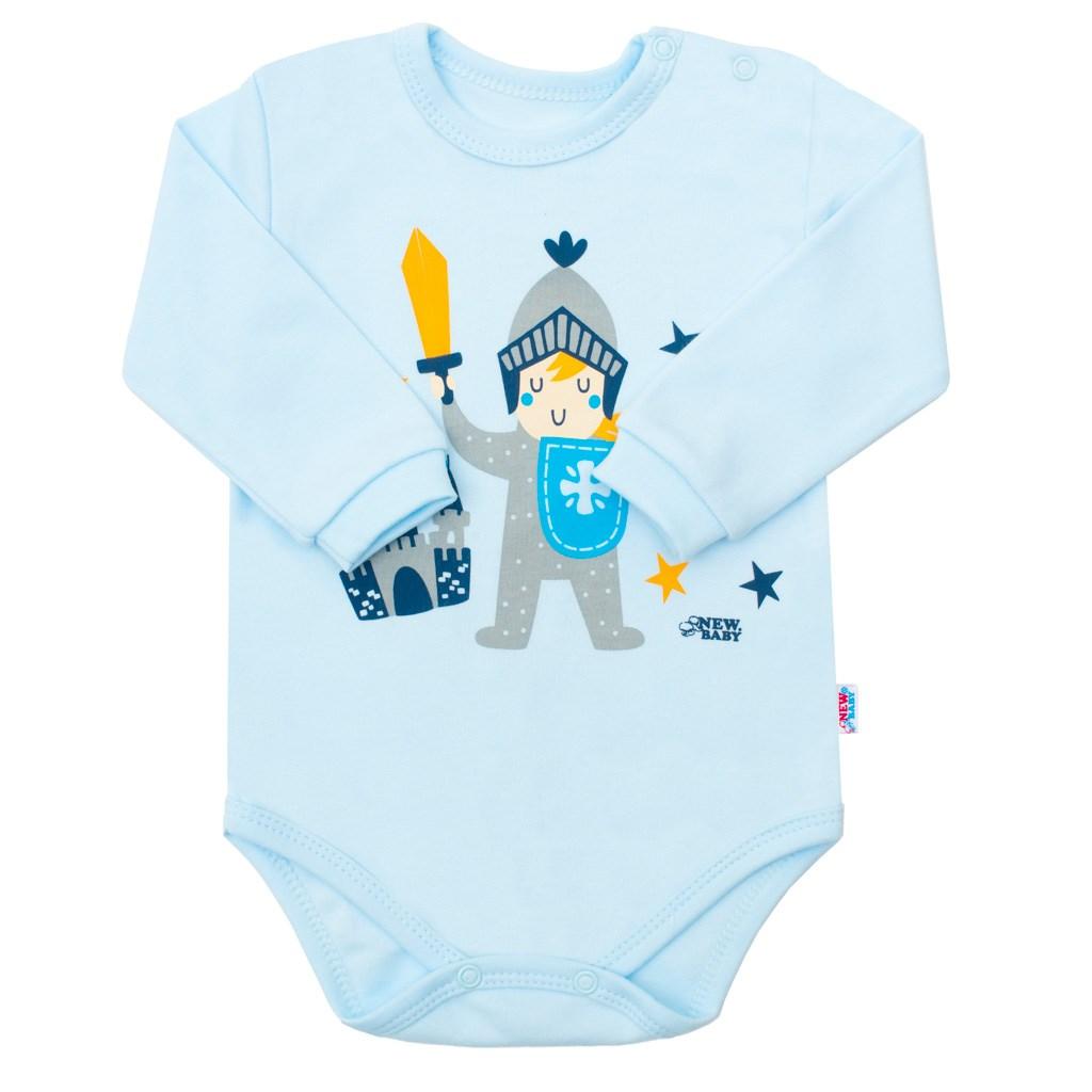 Dojčenské bavlnené body New Baby Knight