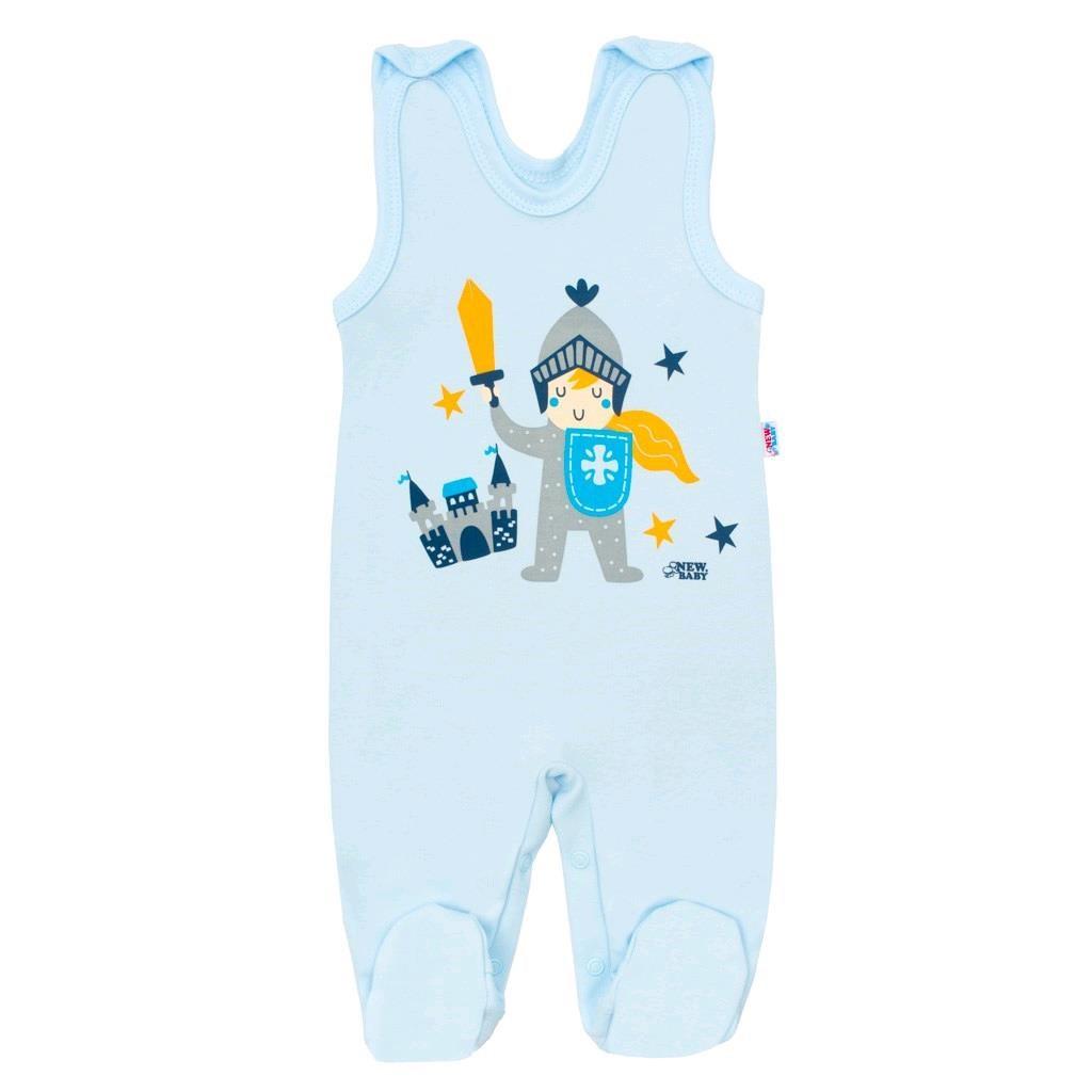 Dojčenské bavlnené dupačky New Baby Knight-68 (4-6m)