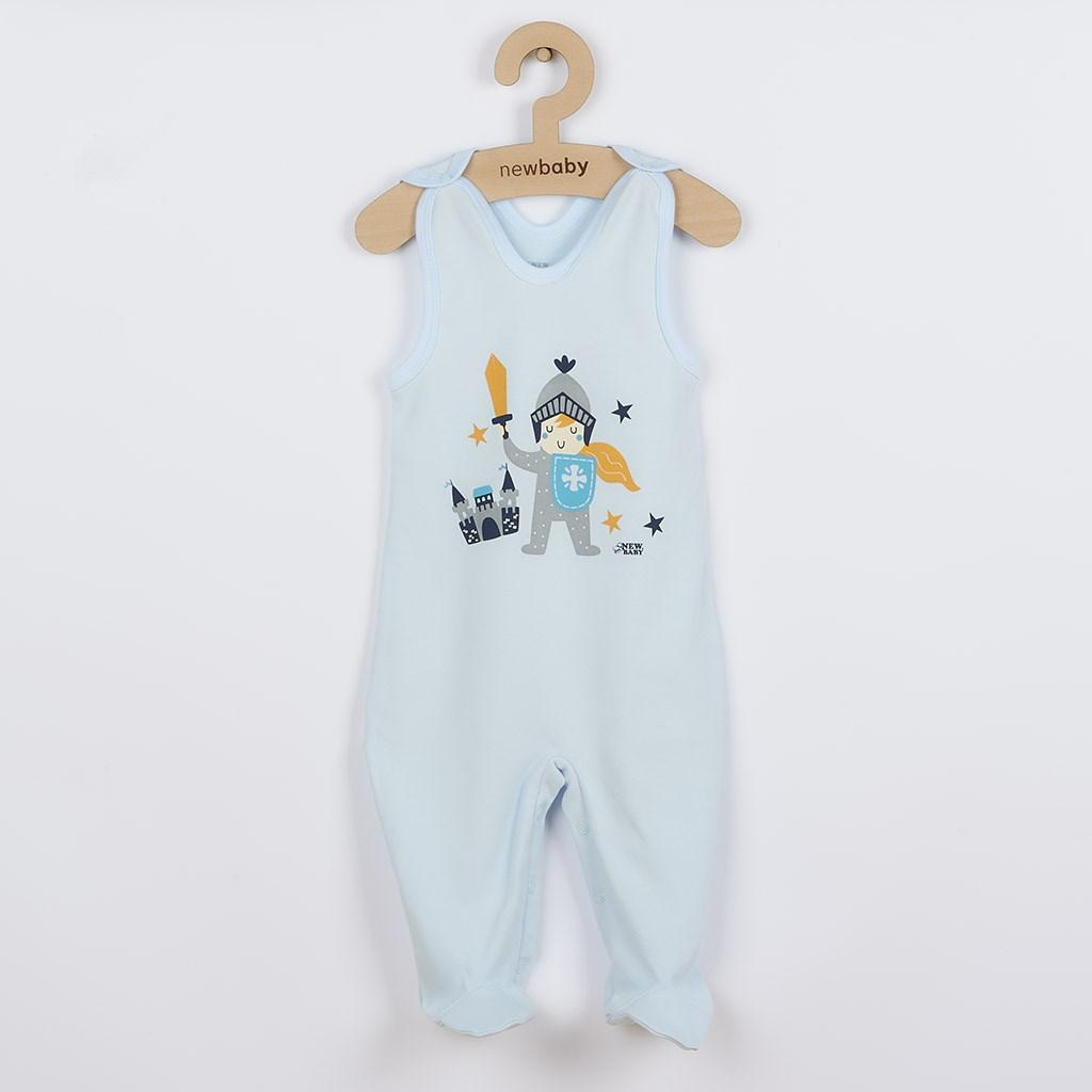 Dojčenské bavlnené dupačky New Baby Knight