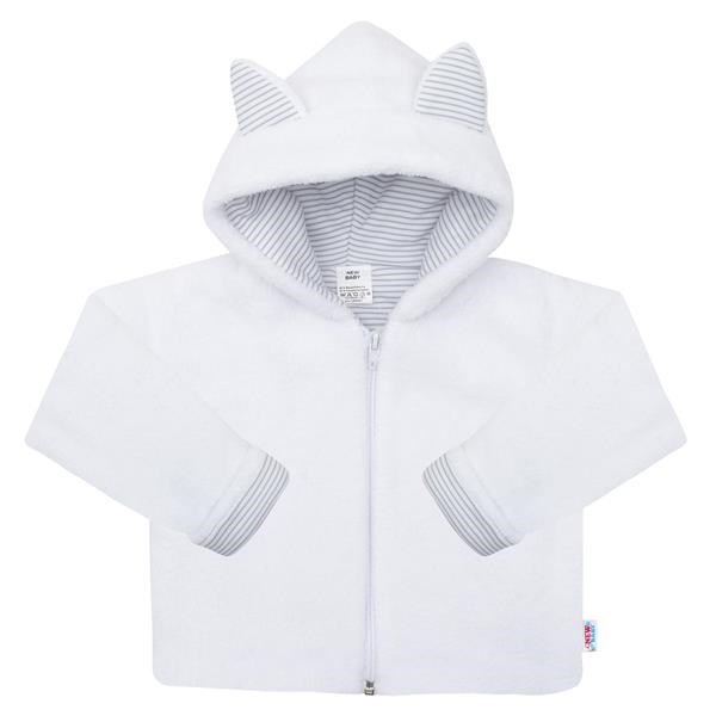 Luxusný detský zimný kabátik s kapucňou New Baby Snowy collection-56 (0-3m)