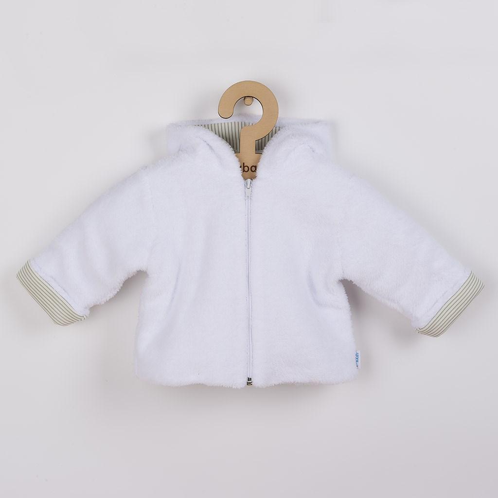 Luxusný detský zimný kabátik s kapucňou New Baby Snowy collection-80 (9-12m)