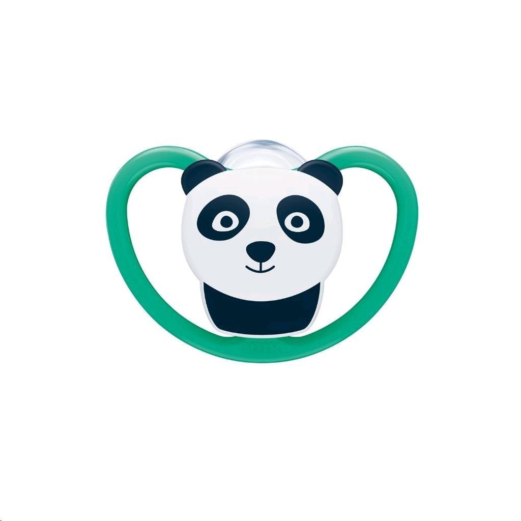 Cumlík Space NUK 6-18m panda